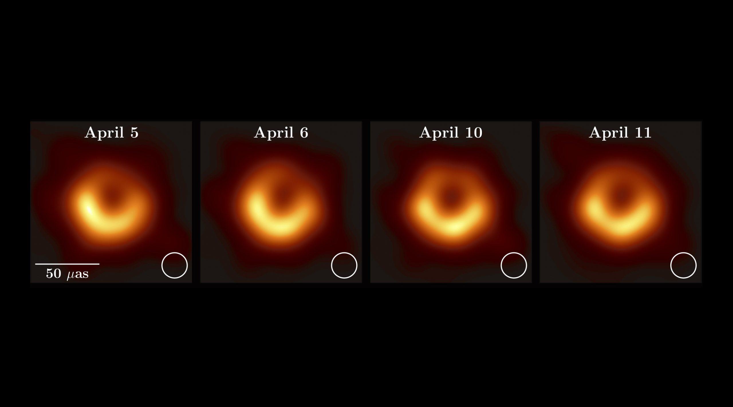 შავი ხვრელის პირველი სურათი ერთი წლისაა